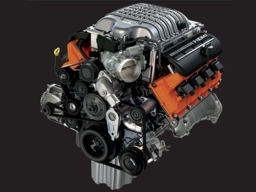 Mopar Performance 6 2L Supercharged Crate HEMI Engine - 68303089AA