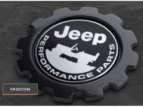 Liberty Jeep Performance Parts Badge - 82215764