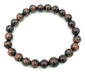 Red Tigers Eye Wrist Mala