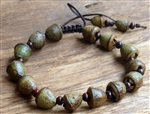 Eucalyptus Pod Adjustable Wrist Mala