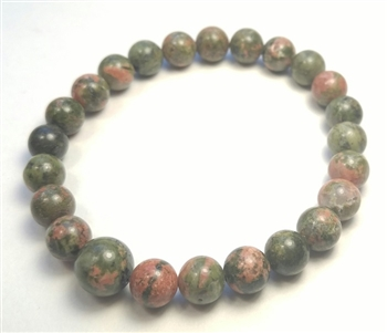 Stretchy Quartz Beaded Bracelet - Prayer Beads