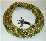 Gold Phoebe Wood 108 Mala