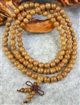 Phoenix Tail Wood 108 Bead Buddhist Mala