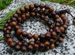 Black Pear Wood 108 Bead Mala