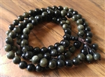 Gold Sheen Obsidian 108 Buddhist Mala