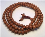 Red Lotus Seed 108 Bead Mala