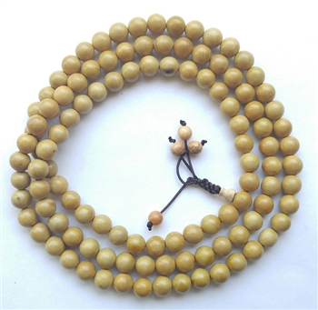Boxwood 108 Bead Buddhist Mala
