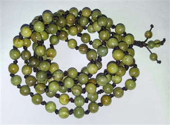 Verawood Knotted 108 Bead Mala Prayer Beads