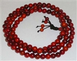 Stretchy Dragon Blood Wood 108 Bead Mala
