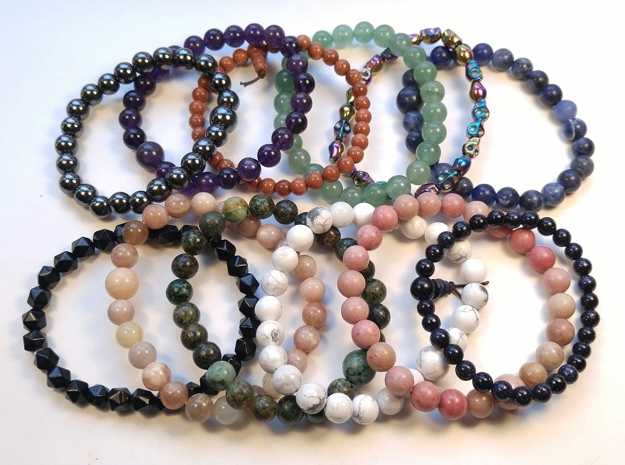 Sampler Pack Top 15 Best Ing Wood Seed Beaded Bracelets Wrist Malas 2 Ea 30 Total New