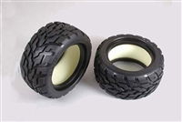 Tamiya NDF-01 V-Tread Block Tires (75/47) 53854