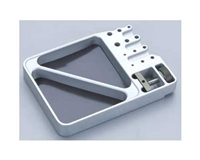 TEAM INTEGY Universal Alloy Workstation Tray C22556SILVER