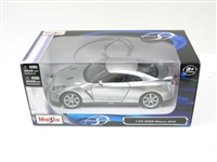 MAISTO 1/24 Special Edition 2009 Nissan GT-R Silver Color MAI31294S