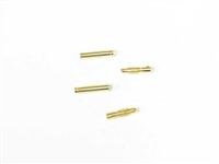 Gold Plated 4.0mm Banana Style Twisted Plug Male & Female 1pair MUCH011