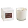 Bourbon Oak White Candle 2 Wick 12oz.