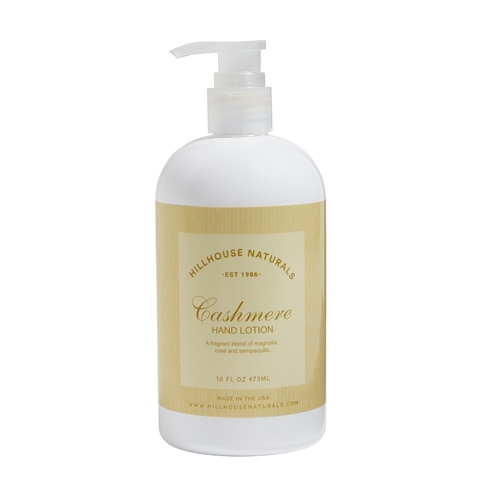 Cashmere hand lotion 16oz.