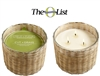 Cut Grass Handwoven Candle 3 Wick 21oz.