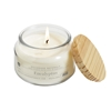 Eucalyptus 1 wick candle in jar w/wood lid 8.5oz.
