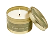 Fresh Cut Balsam & Pine In Gold Candle Tin 5oz