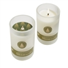 Fresh Cut Balsam & Pine Frosted Candle In Glass 5oz.