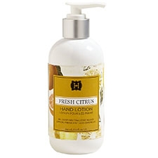 Fresh Citrus hand lotion 8.25oz.
