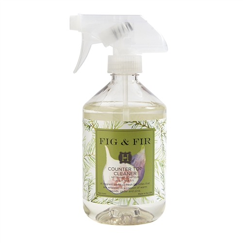 Fig & Fir Counter Cleaner 16oz. (Est. ship date 8/30)