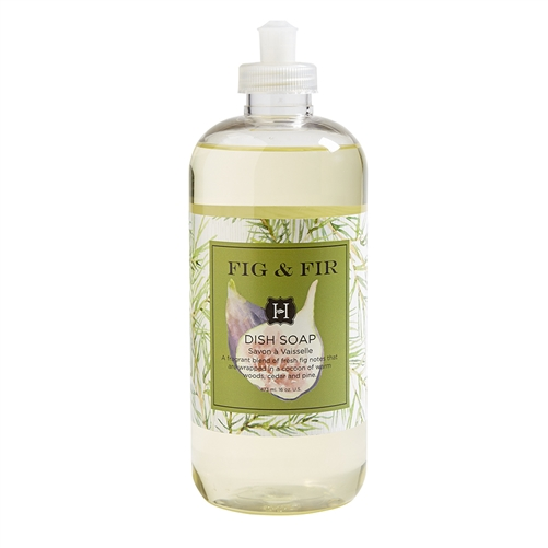 Fig & Fir Dish Soap 16oz.