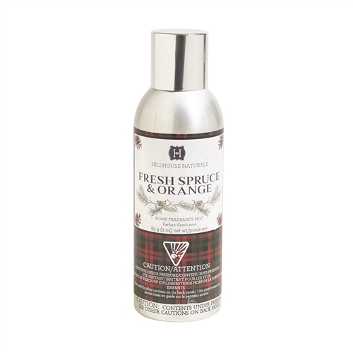 Fresh Spruce & Orange fragrance mist 3oz.