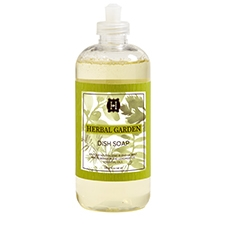 Herbal Garden dish soap 16oz.