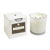 Fresh Linen 2 wick white candle w/box 12oz.