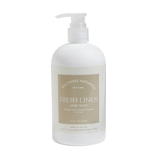 Fresh Linen hand wash 16oz.