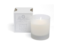 Paperwhites candle in glass 7oz.