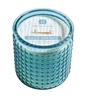Salt Swept Candle Glass 15oz.