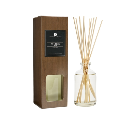 Woods Diffuser In Amber Bottle 8 oz.