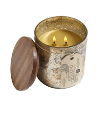 Woods Candle in Gold Mercury 13oz.