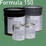 MIL-DTL-24441 Formula 150, Type III and Type IV, are available in 2 gallon and 10 gallon kits. Fed STD 595 color 24272 (green primer). Click for more photos.