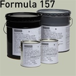 Fed STD 595 color 26662 (No. 50 Gray) for MIL-DTL-24441 Formula 157, Type III and Type IV