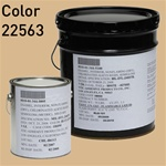 Fed STD 595 color 22563 Beach Sand for MIL-DTL-24607 Chlorinated Alkyd Enamel