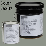Fed STD color 26307, bulkhead gray, for MIL-DTL-24607 Chlorinated Alkyd Enamel