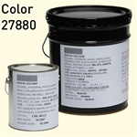 Fed STD 595 color 27880 Soft White for MIL-DTL-24607 Chlorinated Alkyd Enamel