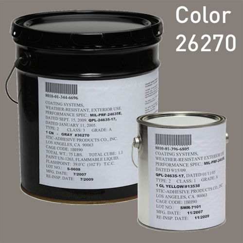 gray navy color mil prf 24635 type ii class 2 color 26270 silicone alkyd paint