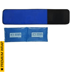 Medium Cold Therapy Wrap with ICE Pack -Small Knee | Ice Down