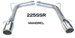 2005-10 Charger, 300, Magnum 5.7L 5db resonator eliminator kit w/SSR tips