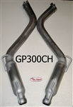 "GP300CH 2012-14 SRT8 Charger/300  6.4L 3"" Glass pack resonated kit"