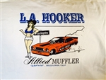 L.A. Hooker/Allied Muffler t-shirts