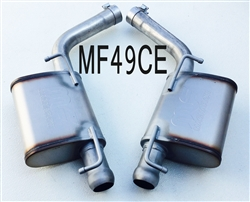 MF49CE 09-10 Challenger Magnaflow Axle-back  Quiet kit