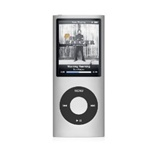 "Apple iPod Nano 8GB 4th Generation MB598LL/A Silver - Flash Portable Media Player - Audio Player, Video Player, Photo Viewer - 2"" Color LCD - 8GB Flash Memory"