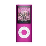 "Apple iPod Nano 8GB 4th Generation MB735LL/A Pink - Flash Portable Media Player - Audio Player, Video Player, Photo Viewer - 2"" Color LCD - 8GB Flash Memory"
