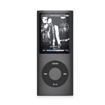 "Apple iPod Nano 8GB 4th Generation MB754LL/A Black - Flash Portable Media Player - Audio Player, Video Player, Photo Viewer - 2"" Color LCD - 8GB Flash Memory"