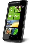 "HTC HD7 T9292 16GB Windows Phone 7 Unlocked QuadBand GPS WiFi HSDPA Cellular Phone - 900/2100MHz WCDMA, 4.3"" capacitive Display, Multi-touch, 5MP Camera, 720p HD Video, Digital Compass, 3.5 mm audio jack, Snapdragon, Microsoft Windows Phone 7"